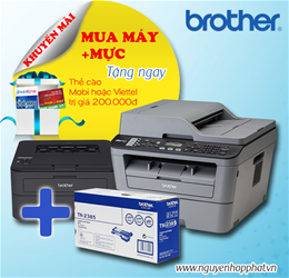MUA COMBO THOẢ SỨC ALO cùng máy in Brother 2016